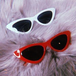 Cat Eye Glasses in RED
